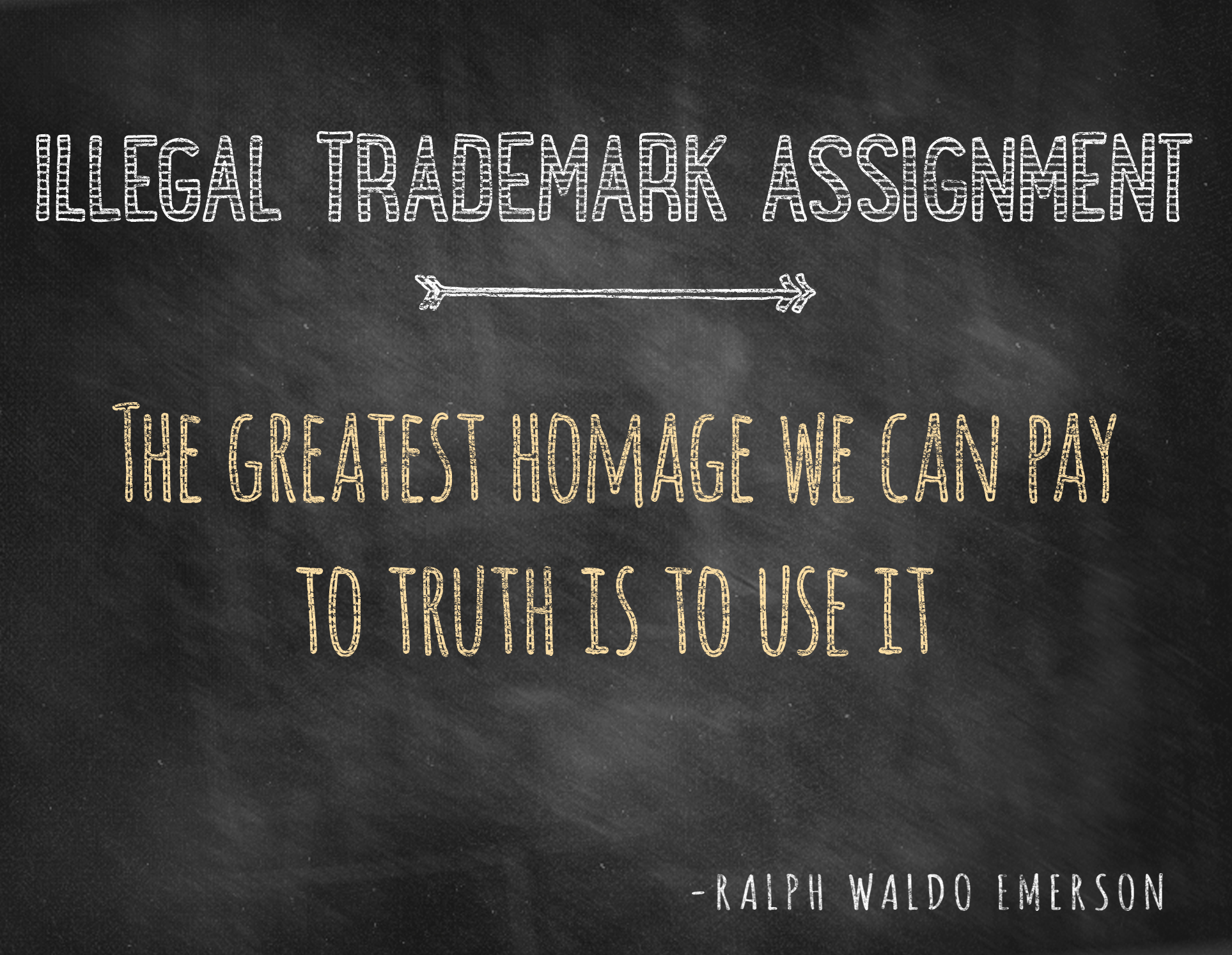 Avoiding Illegal Trademark Assignment
